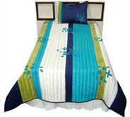 Cushion And Quilt Set