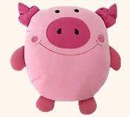 Pig Shaped Cushion