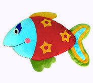 Fish Shaped Baby Toy