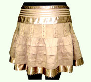 Pleated Mini Skirts