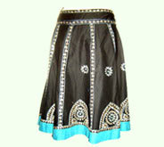 Belted Full Skirt