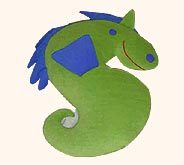 Soft Toy Sea Horse