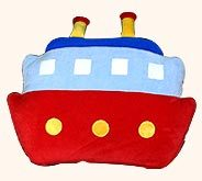 Boat Soft Toy