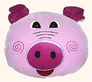 Pig Shaped Pillow
